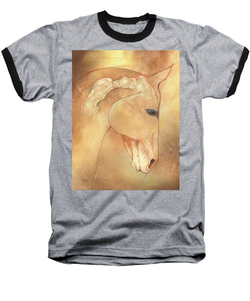 Poll Meet Atlas Axis Baseball T-Shirt by Catherine Twomey