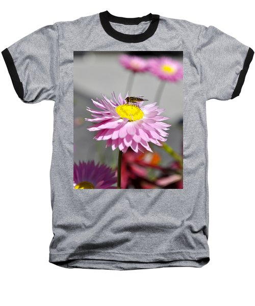 Baseball T-Shirt featuring the photograph Pollination by Cathy Mahnke