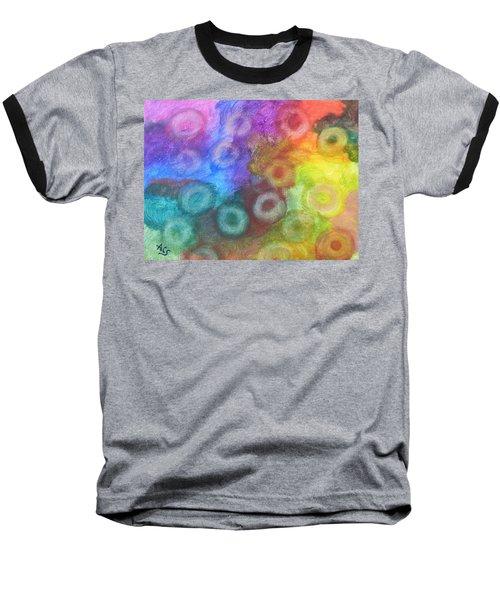 Polychromatic Rbc's Baseball T-Shirt
