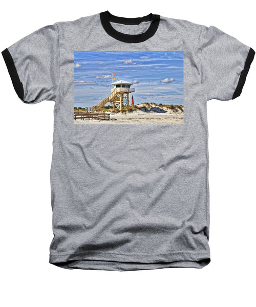 Ponce Inlet Scenic Baseball T-Shirt by Alice Gipson
