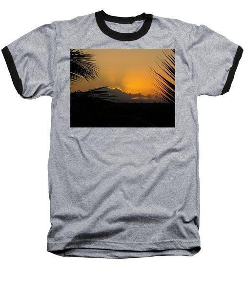 Ponce Sunrise Baseball T-Shirt