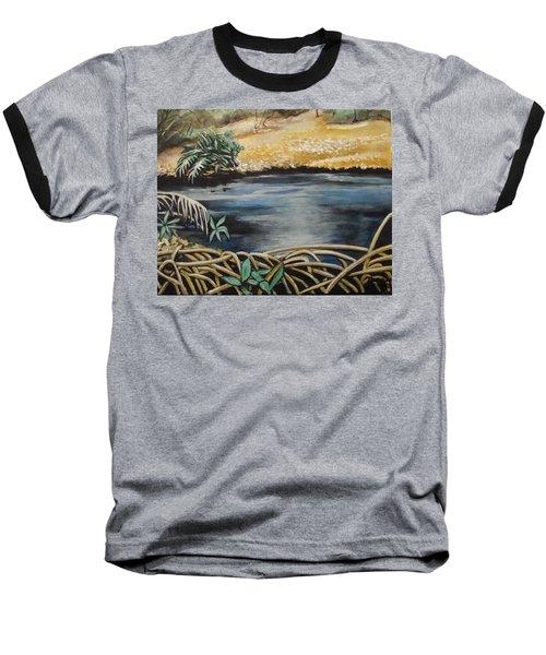 Pond 1 Baseball T-Shirt
