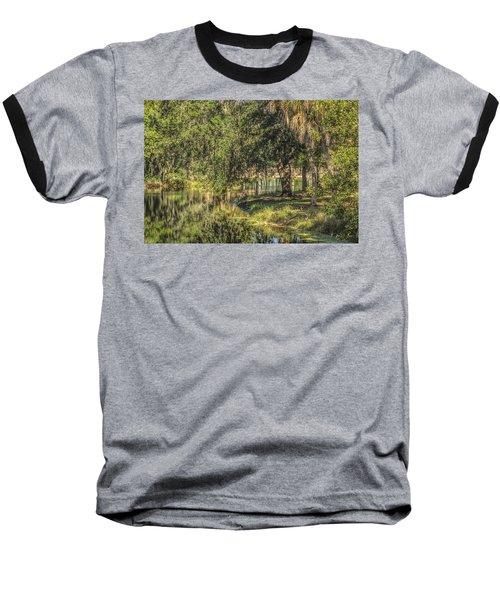 Pond Reflections Baseball T-Shirt