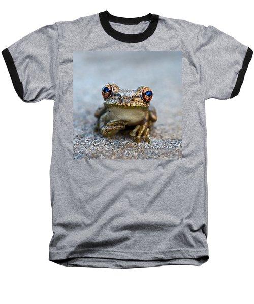 Pondering Frog Baseball T-Shirt