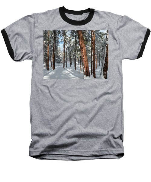 Ponderosa Winter Baseball T-Shirt