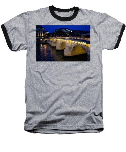 Pont Neuf Bridge - Paris - France Baseball T-Shirt
