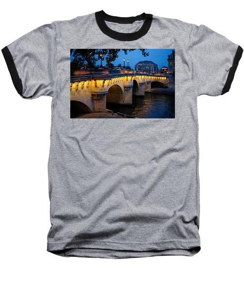 Pont Neuf Bridge - Paris France Baseball T-Shirt