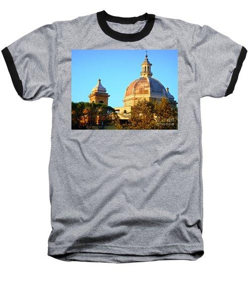 Ponte Milvio Roma Baseball T-Shirt