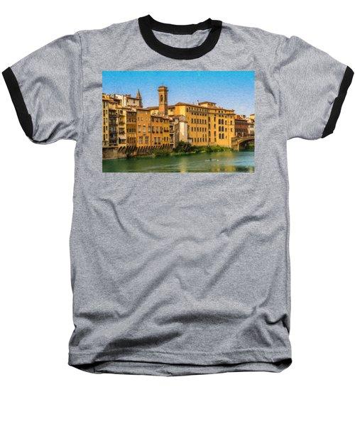 Ponte Vecchio Itl3304 Baseball T-Shirt