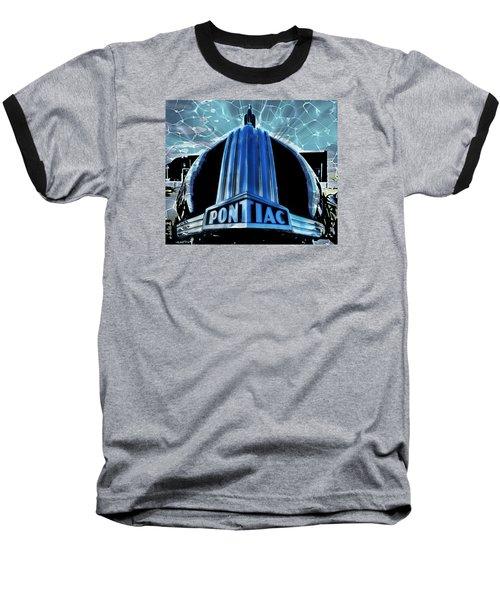 Pontiac Chrome Baseball T-Shirt