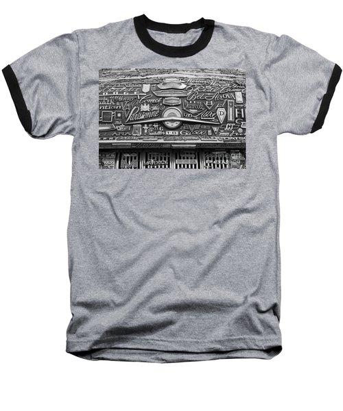 Pontiac Hood Baseball T-Shirt