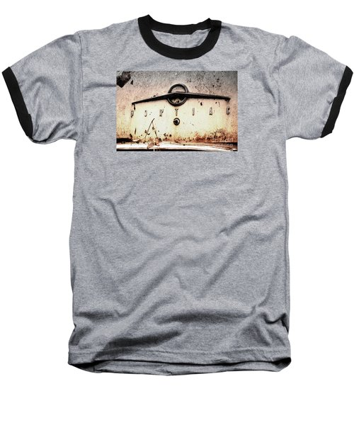 Baseball T-Shirt featuring the photograph Pontiac by Rebecca Davis