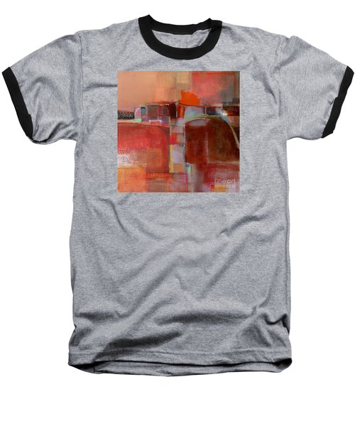 Baseball T-Shirt featuring the painting Pont Des Arts by Michelle Abrams