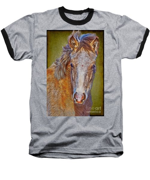 Pony Portrait  Baseball T-Shirt