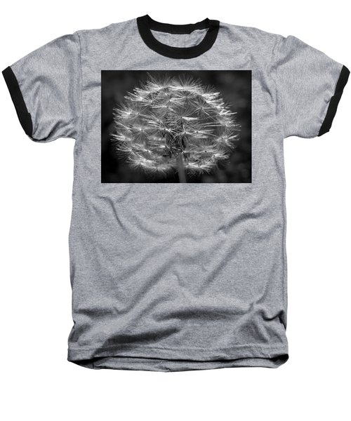 Baseball T-Shirt featuring the photograph Poof - Black And White by Joseph Skompski