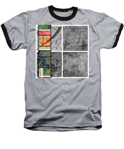 Baseball T-Shirt featuring the photograph Poor And Rich by Sir Josef - Social Critic - ART