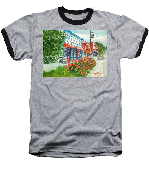 Popcorn Shop In Summer/chagrin Falls Baseball T-Shirt