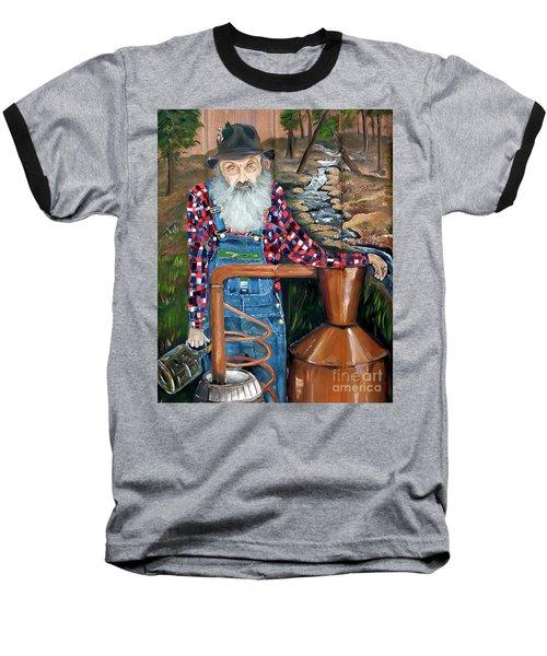 Popcorn Sutton - Bootlegger - Still Baseball T-Shirt