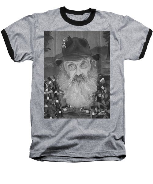 Popcorn Sutton - Jam - Moonshine Baseball T-Shirt