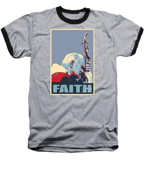 Pope John Paul II Baseball T-Shirt