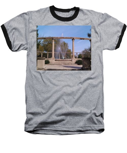 Popp Fountain New Orleans City Park Baseball T-Shirt