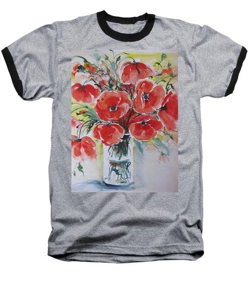 Poppies Iv Baseball T-Shirt