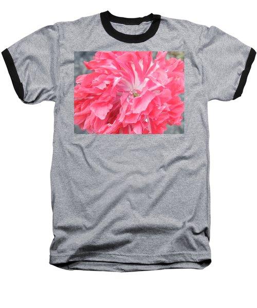 Popping Pink Baseball T-Shirt by Brian Boyle