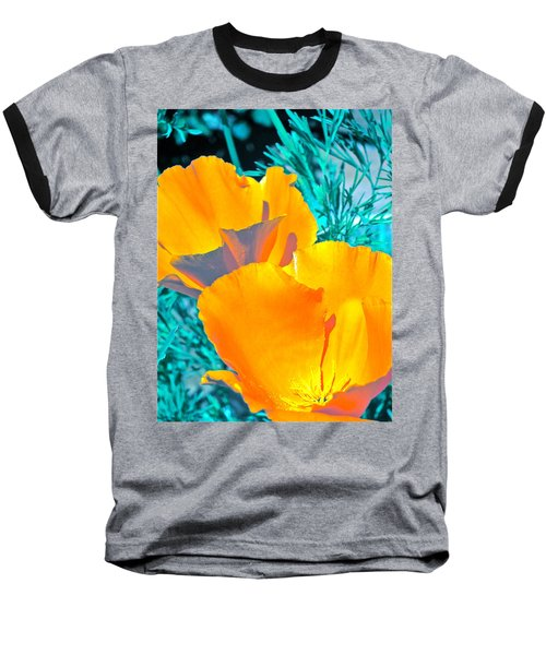 Baseball T-Shirt featuring the photograph Poppy 4 by Pamela Cooper