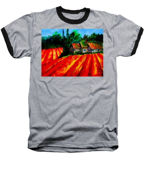 Poppy Field  Sold Baseball T-Shirt
