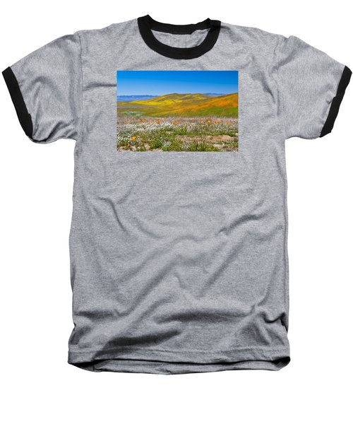 Poppy Fields Baseball T-Shirt