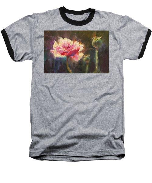 Poppy Glow Baseball T-Shirt