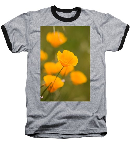 Baseball T-Shirt featuring the photograph Poppy I by Ronda Kimbrow