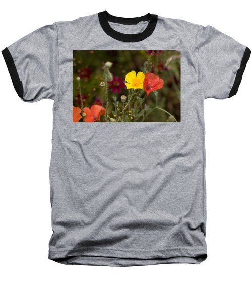 Poppy Love Baseball T-Shirt by Mark Greenberg