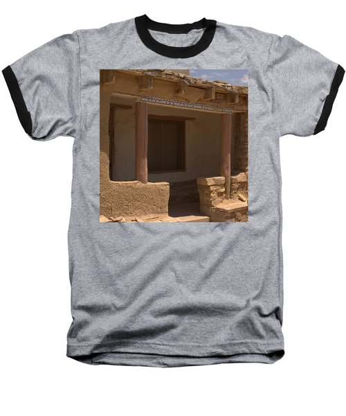 Porch Of Pueblo Home Baseball T-Shirt