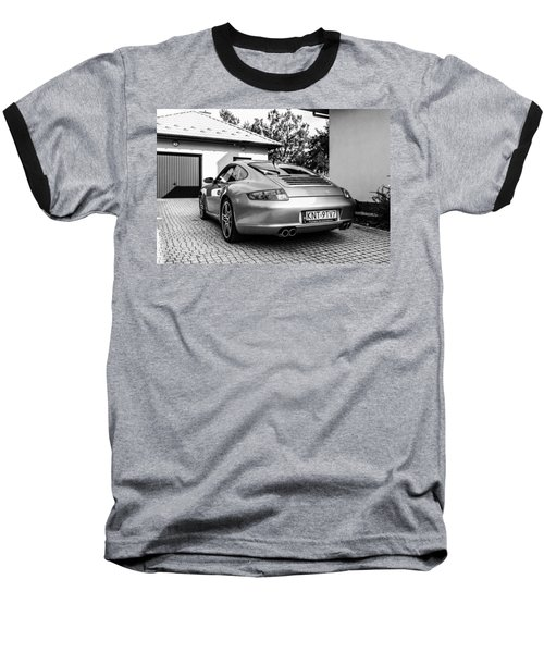 Porsche 911 Carrera 4s Baseball T-Shirt by Tgchan