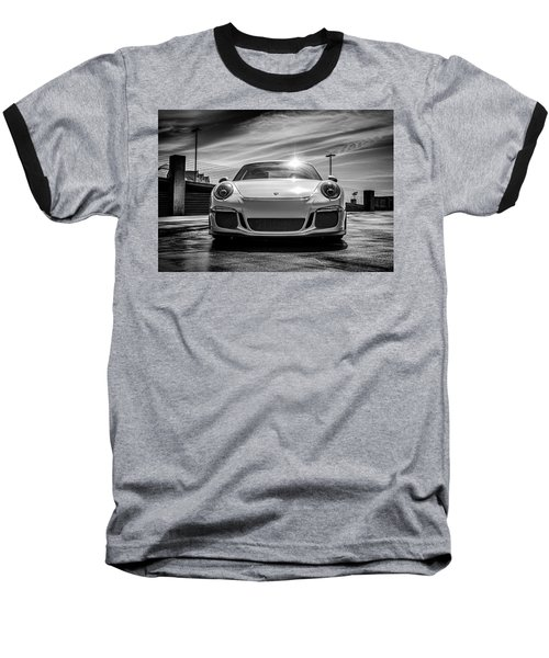 Baseball T-Shirt featuring the digital art Porsche 911 Gt3 by Douglas Pittman