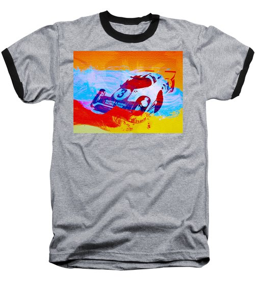Porsche 917 Martini And Rossi Baseball T-Shirt by Naxart Studio