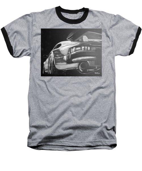 Porsche Turbo Baseball T-Shirt