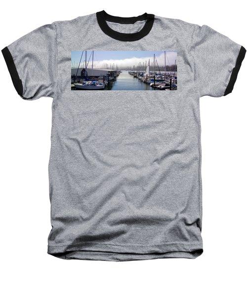 Baseball T-Shirt featuring the photograph Port Kingston Marina by Greg Reed
