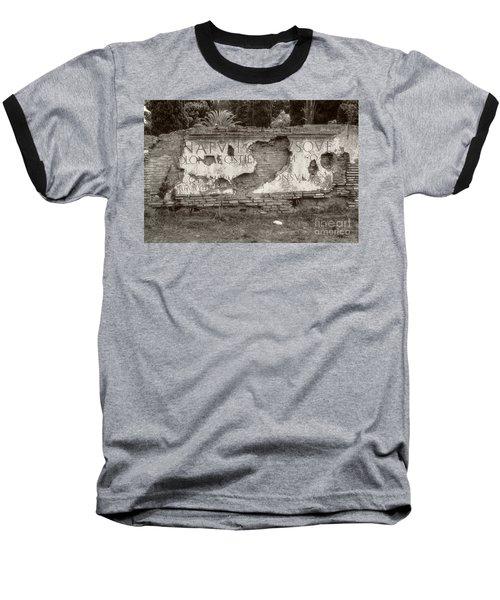 Porta Romana In Sepia Baseball T-Shirt