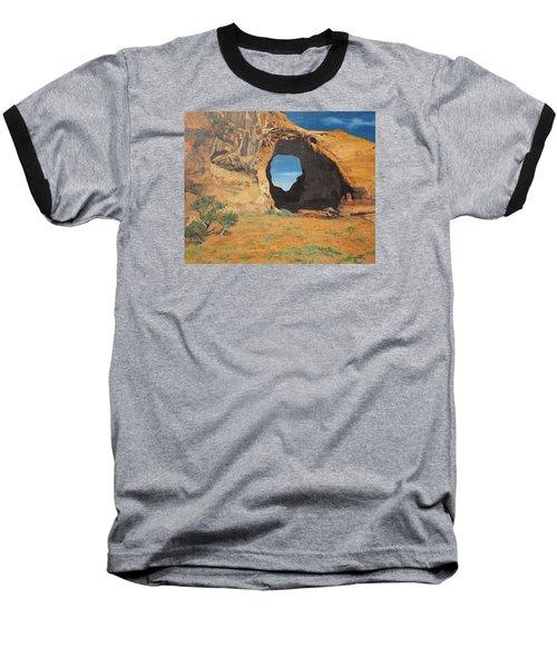 Portal At Window Rock  Baseball T-Shirt