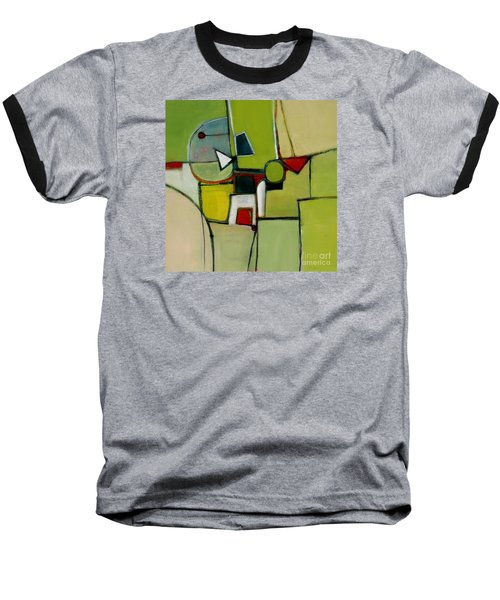 Baseball T-Shirt featuring the painting Portal No.1 by Michelle Abrams