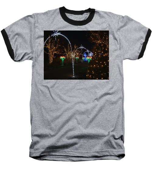 Portal Baseball T-Shirt by Rodney Lee Williams
