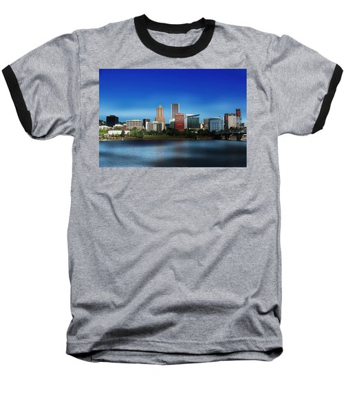 Portland Oregon Baseball T-Shirt by Aaron Berg