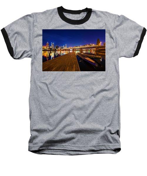 Portland Under The Stars Baseball T-Shirt