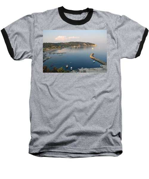 Baseball T-Shirt featuring the photograph Porto Bay by George Katechis