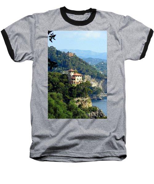 Portofino Coastline Baseball T-Shirt
