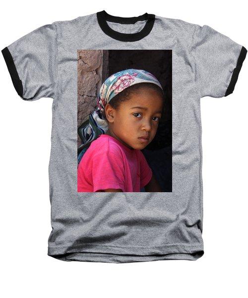Portrait Of A Berber Girl Baseball T-Shirt