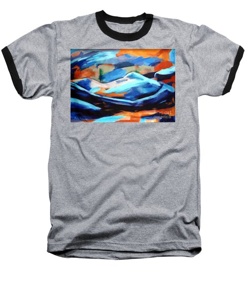 Portrait Of A Figure Baseball T-Shirt