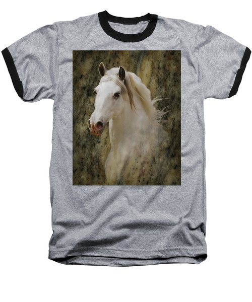 Portrait Of A Horse God Baseball T-Shirt